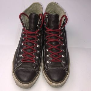 Size 13 Men's Chuck Taylor All Star Brown Leather
